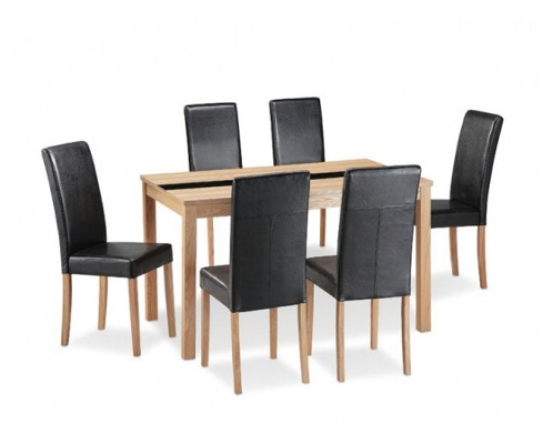 ashleigh dining set in ash shipcote furniture