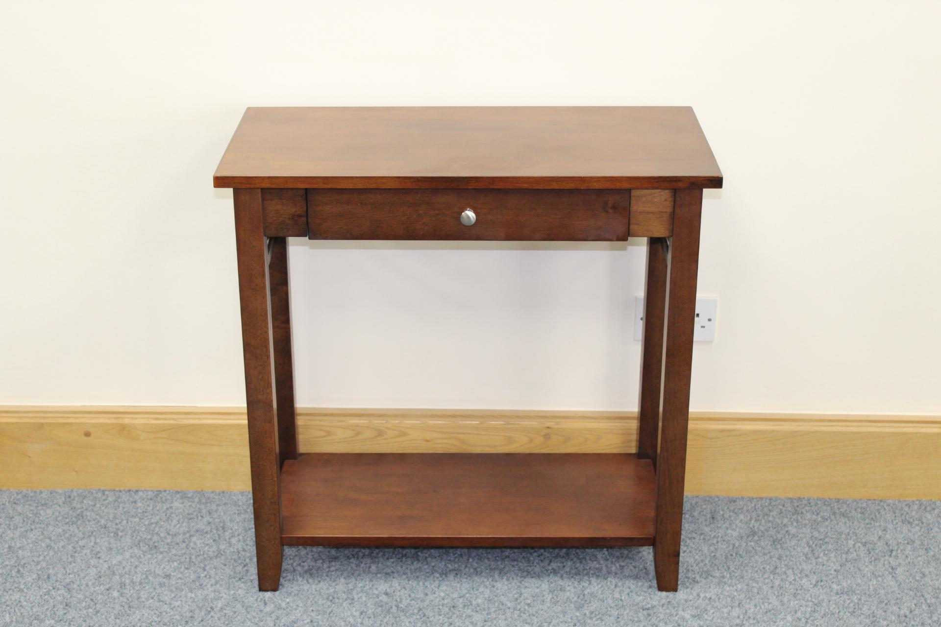 Hanover dark oak console table shipcote furniture hanover dark oak console table geotapseo Gallery