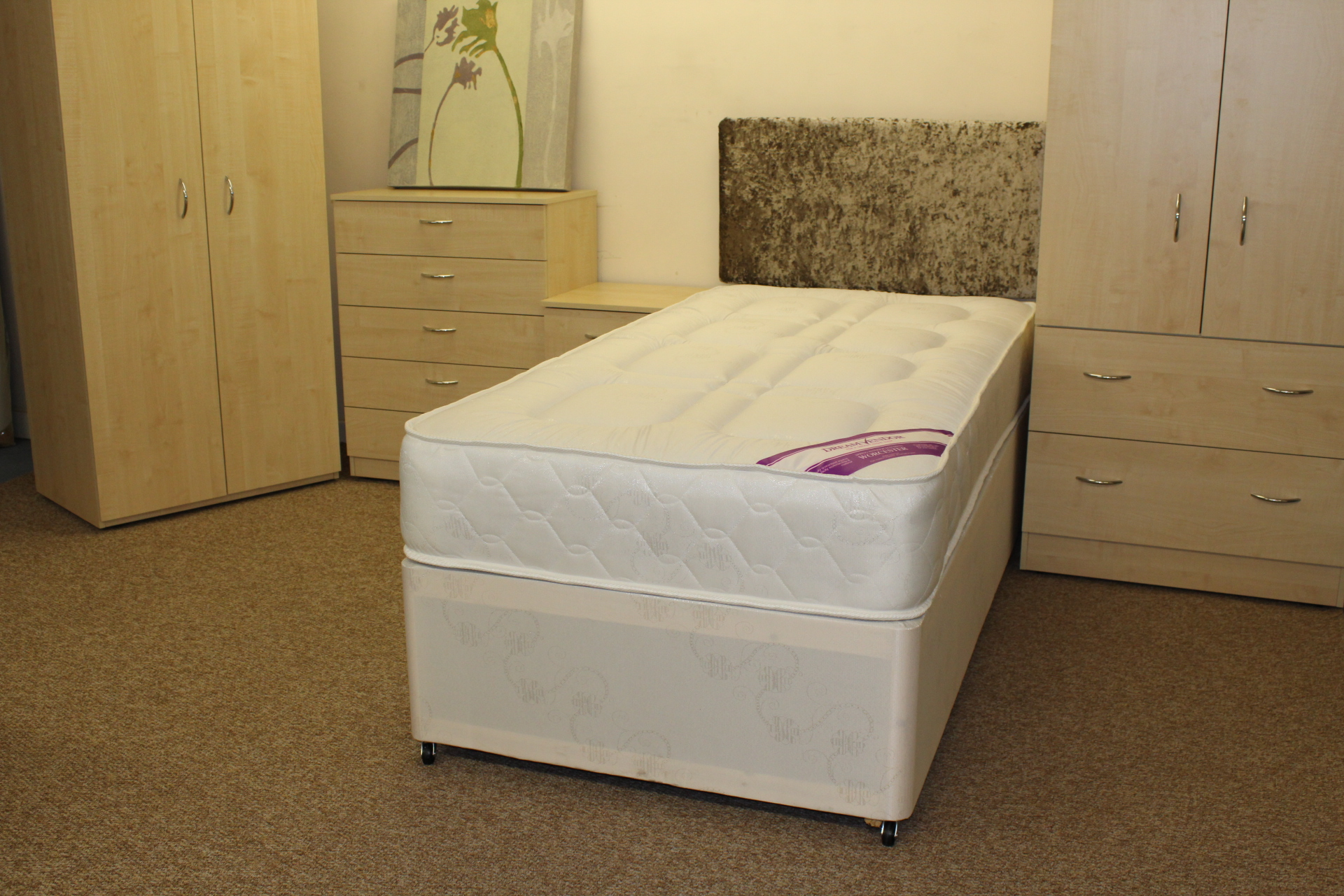 Worcester Divan Bed Shipcote Furniture